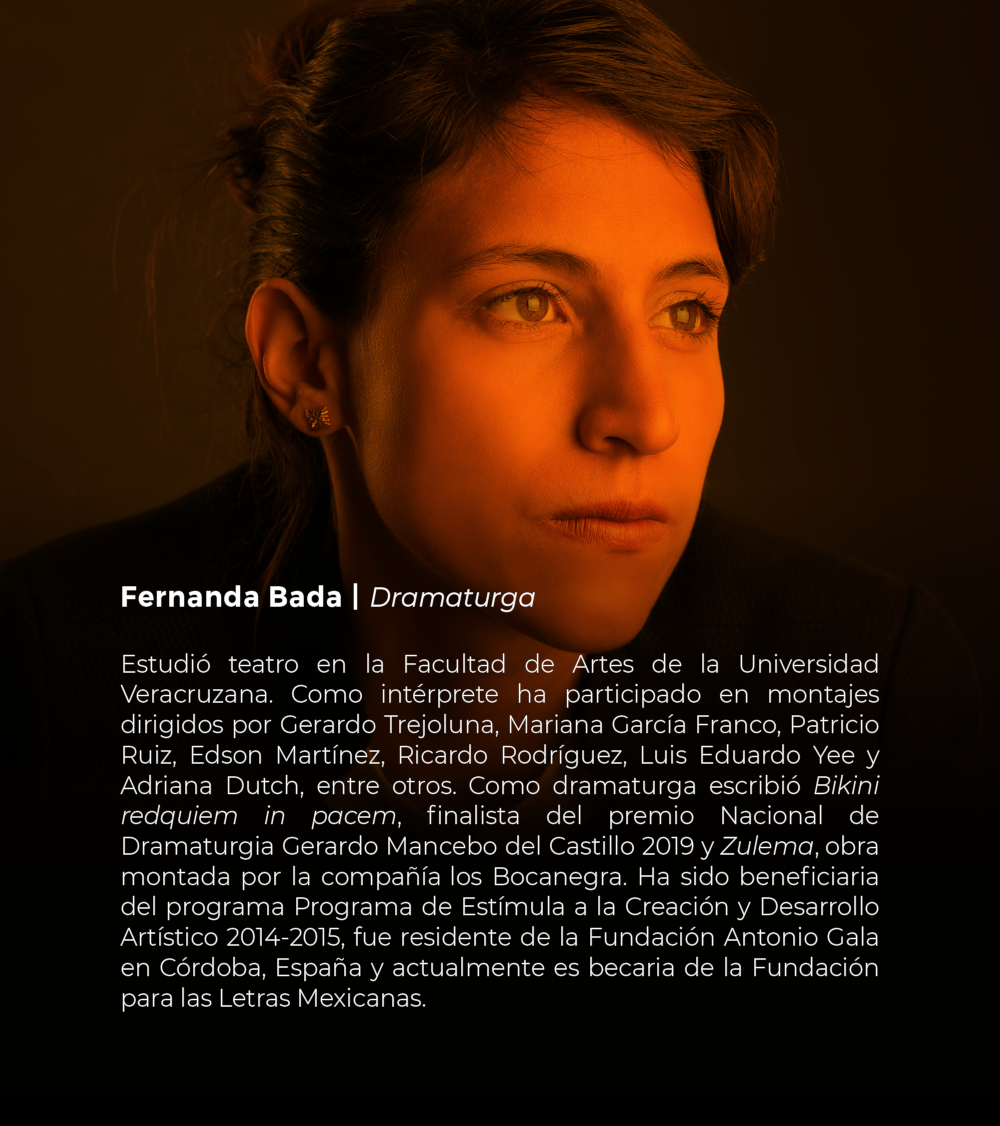 Fernanda Bada | Dramaturga