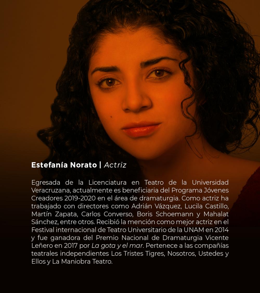 Estefanía Norato | Actiz