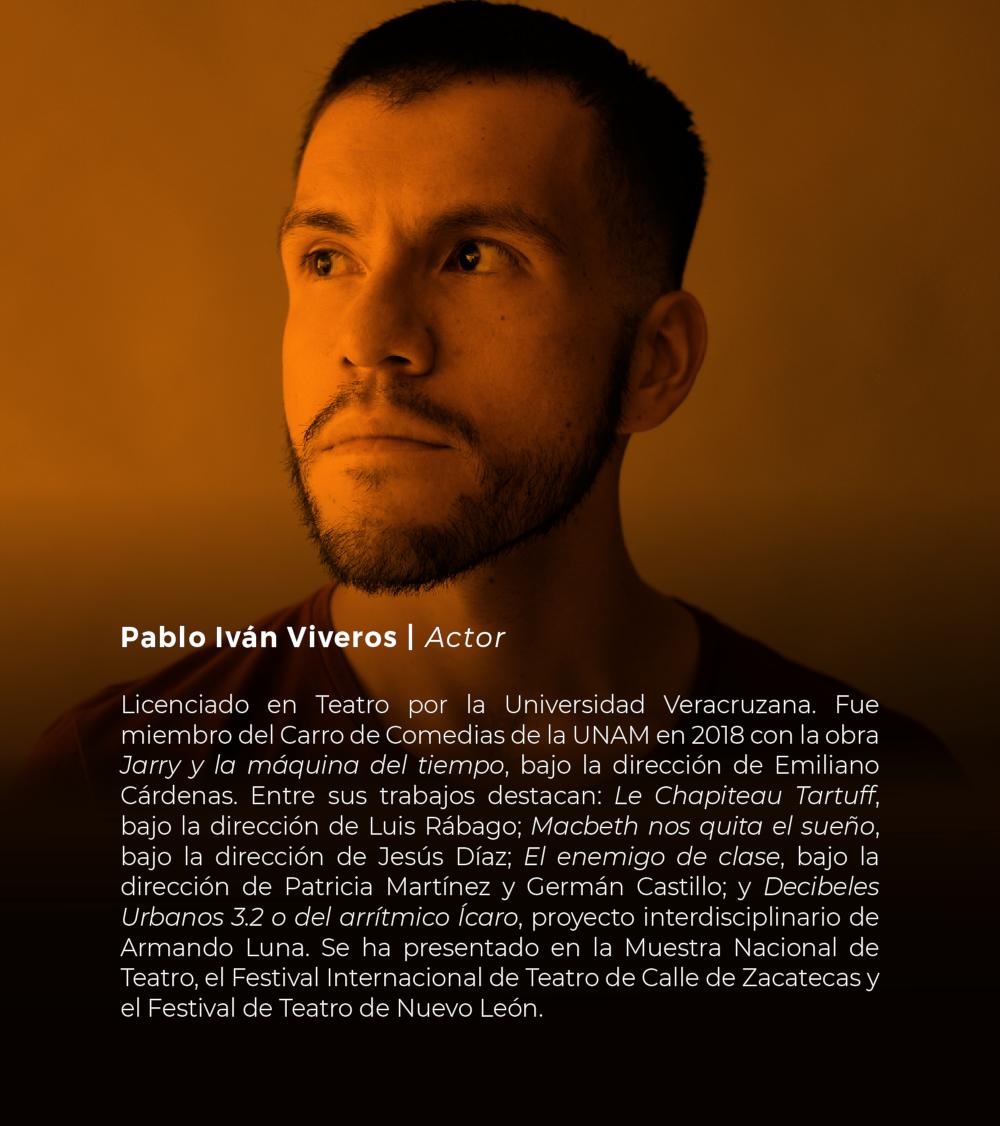 Pablo Iván Viveros | Actor