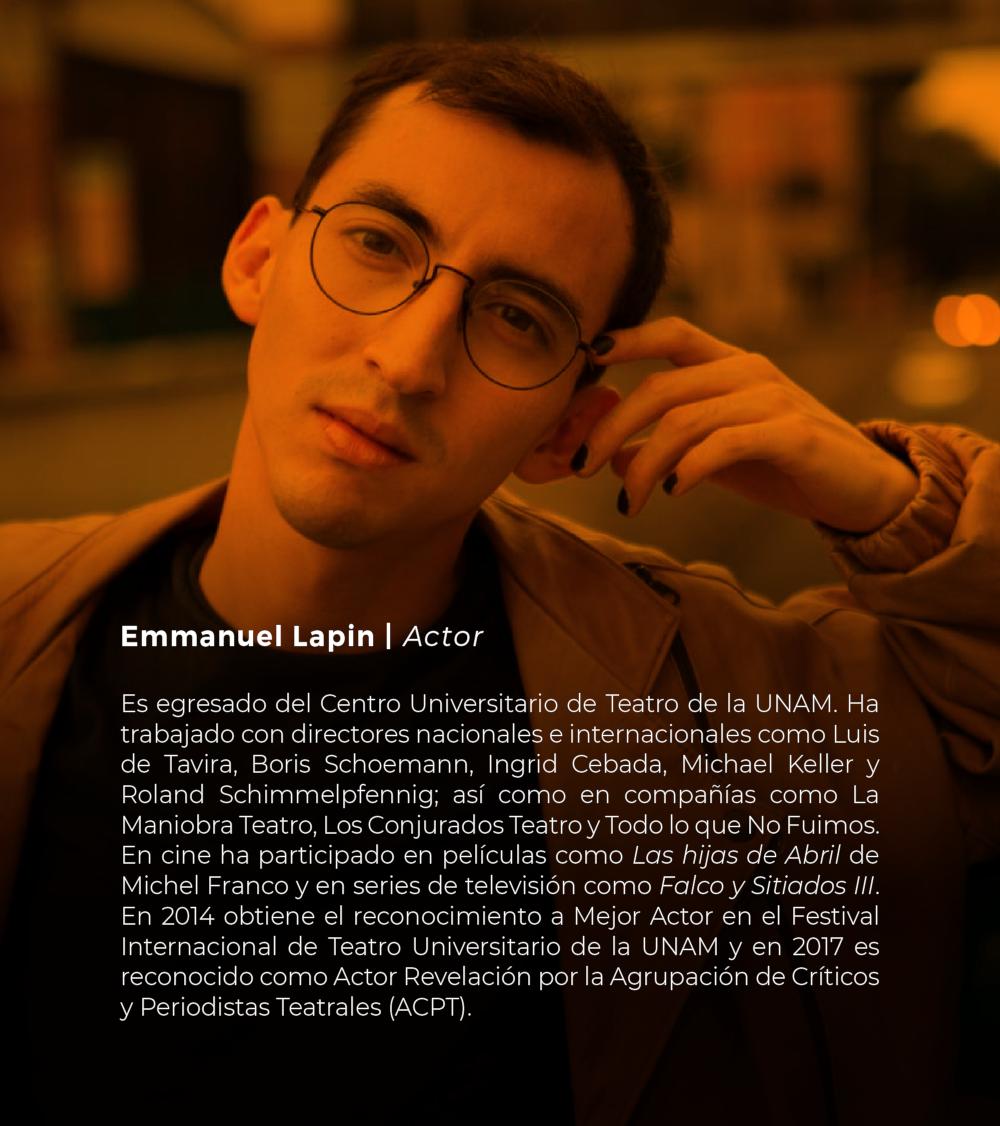 Emmanuel Lapin | Actor