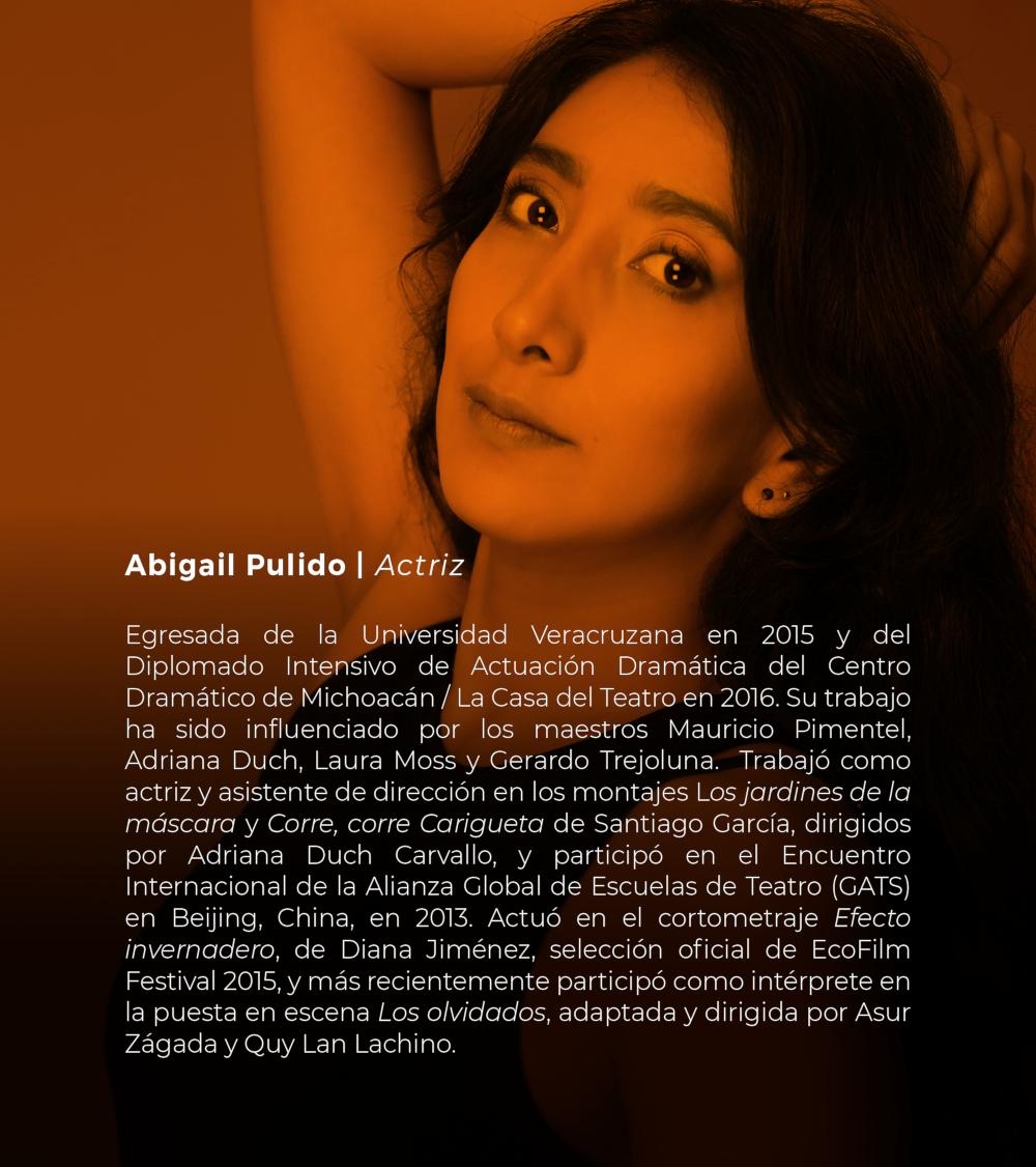 Abigail Pulido | Actriz