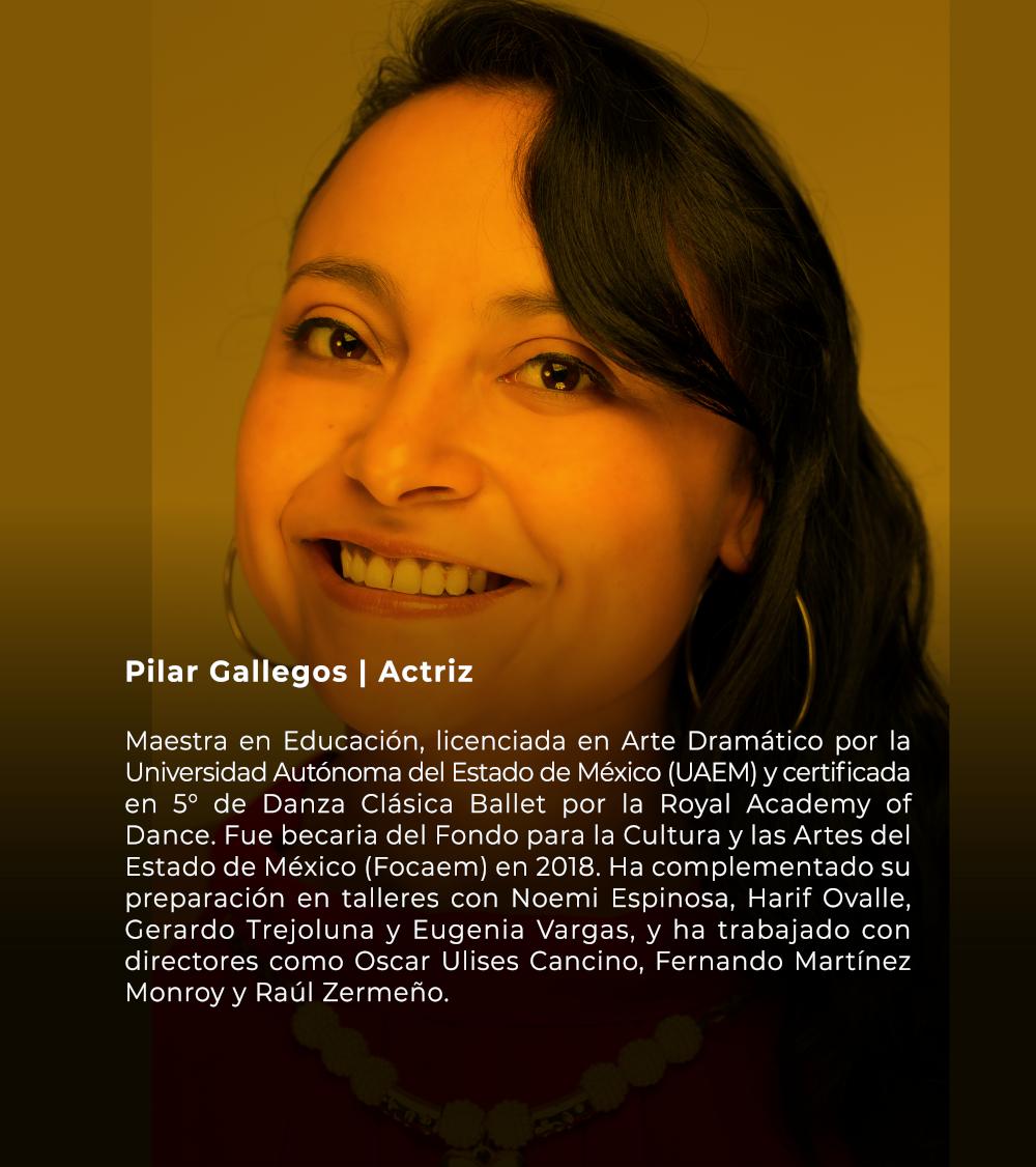 Pilar Gallegos | Actriz