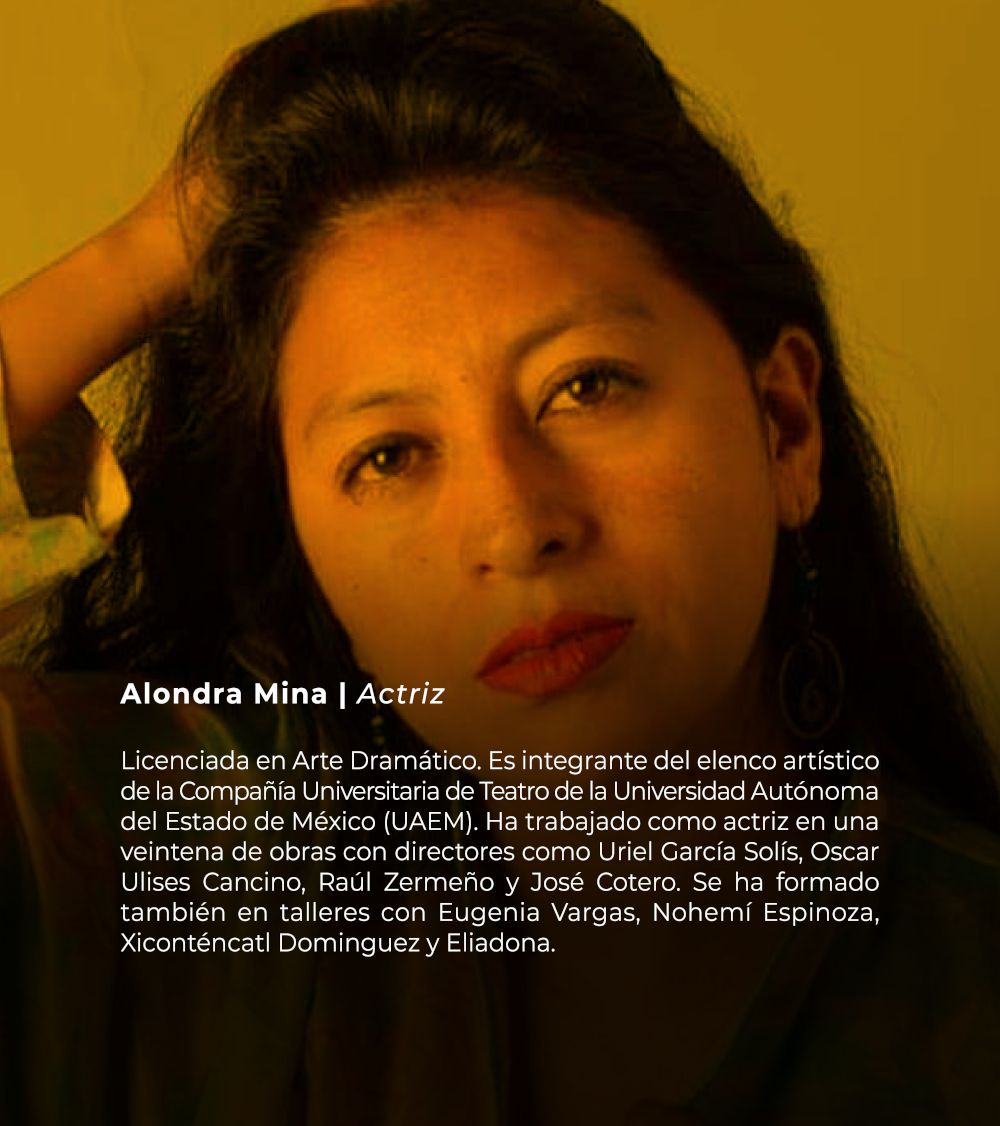 Alondra Mina | Actriz