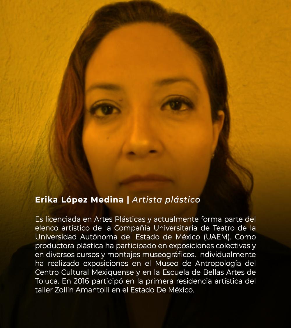 Erika López Medina | Artista plástico
