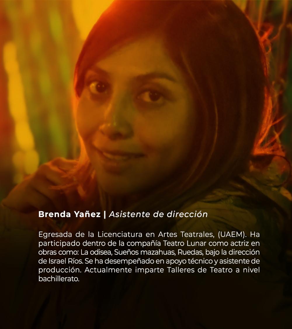 Brenda Yañez | Asistente de dirección