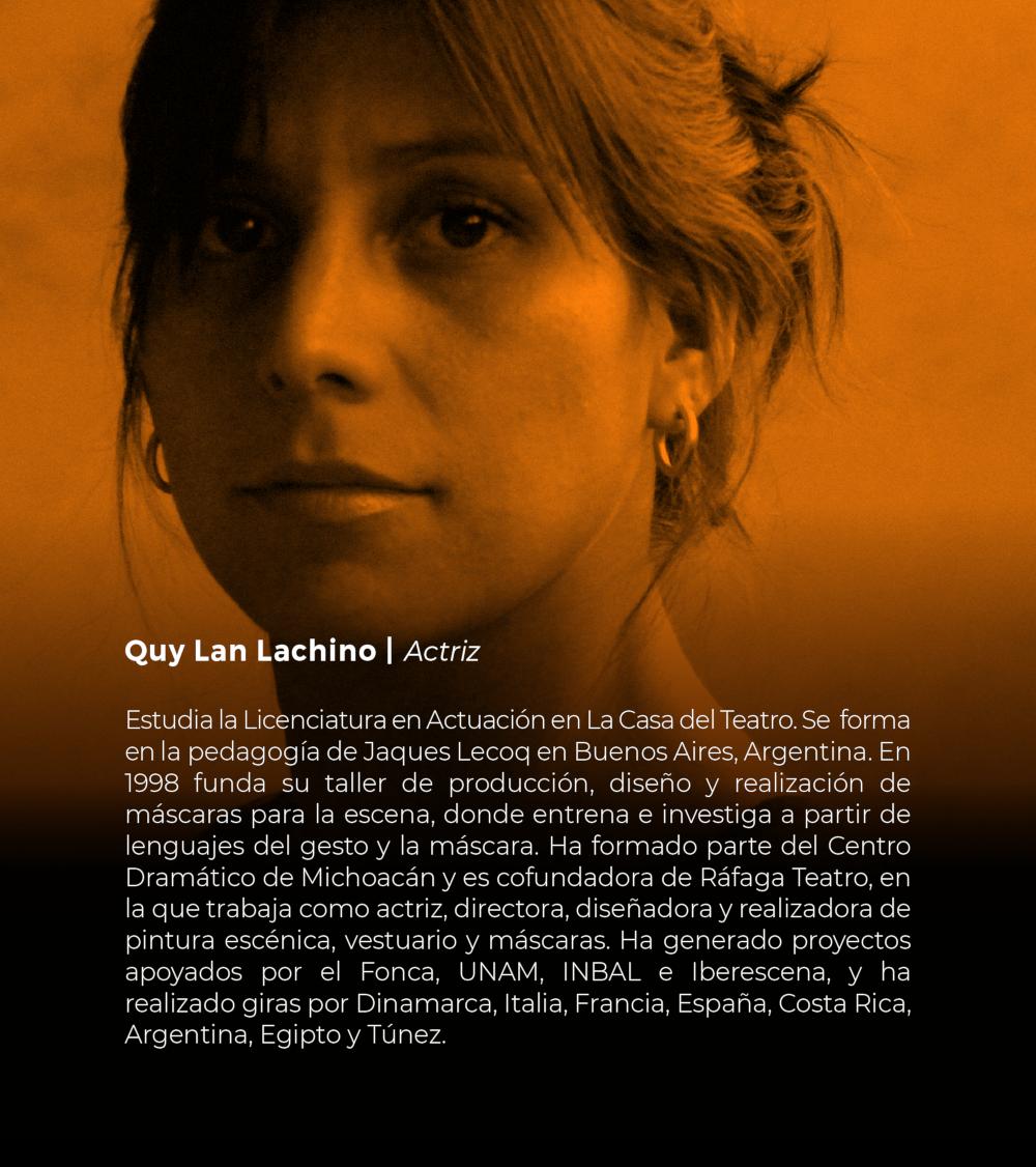 Quy Lan Lachino | Actriz
