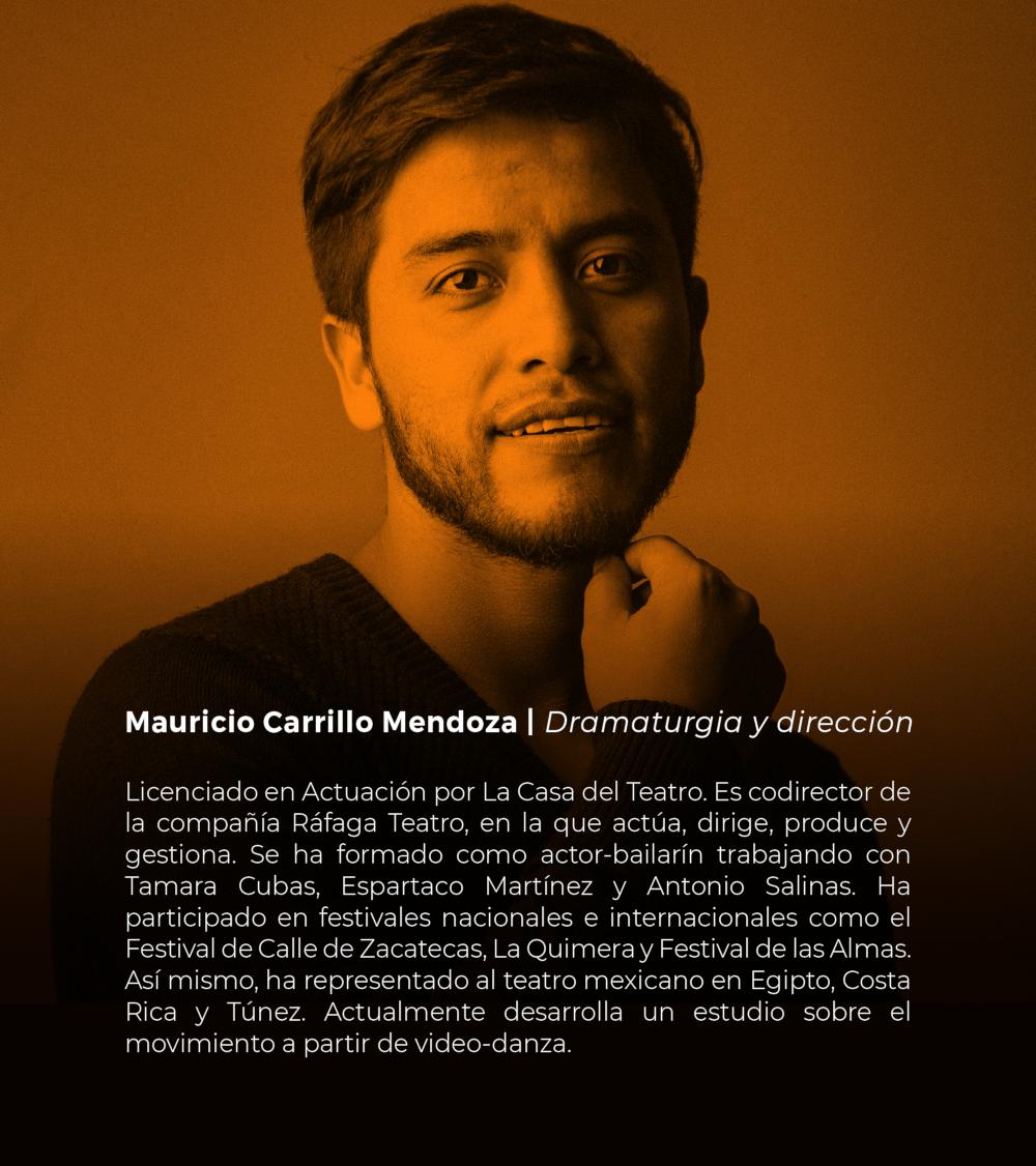 Mauricio Carrillo Mendoza | Dramaturgia y dirección