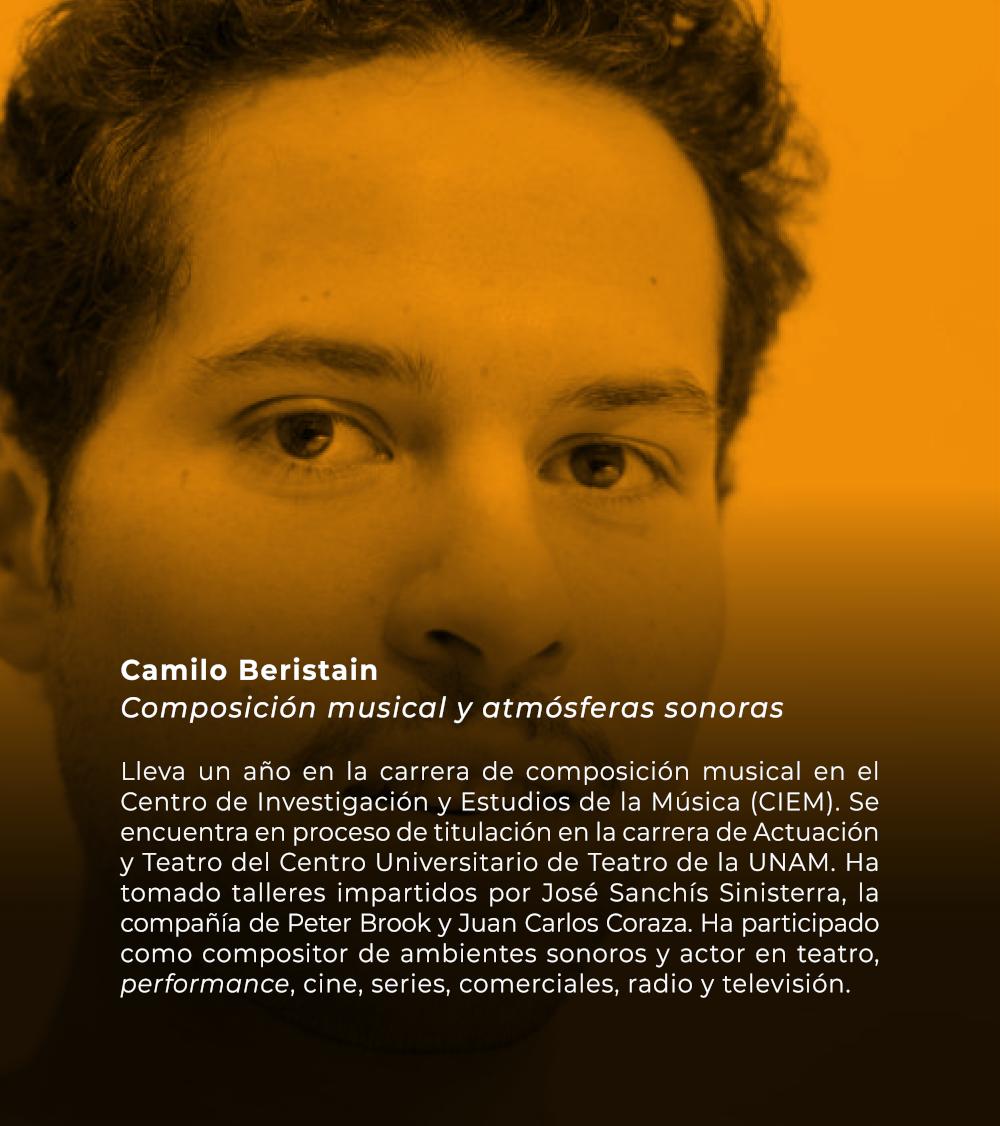 Camilo Beristain   Composición musical y atmósferas sonoras