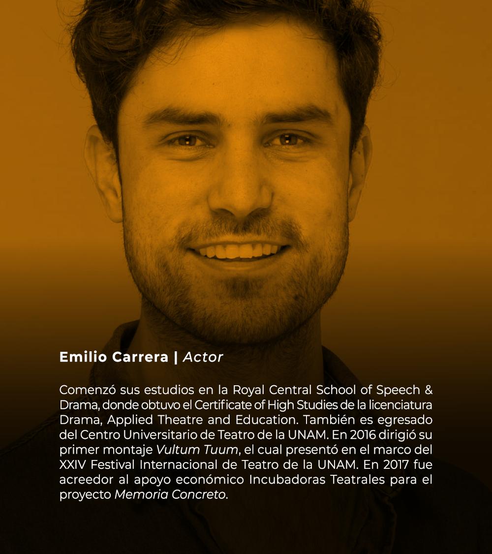 Emilio Carrera   Actor