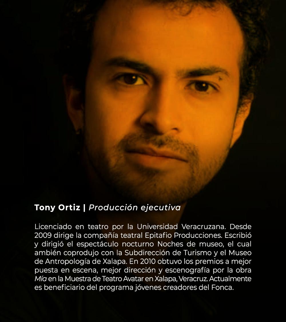 Tony Ortiz   Producción ejecutiva