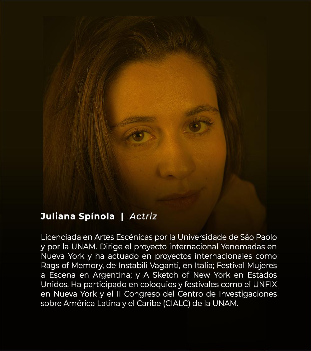 Juliana Spínola | Actriz