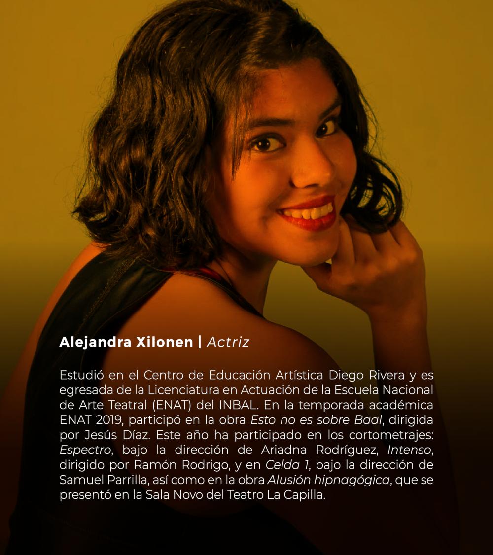 Alejandra Xilonen | Actriz