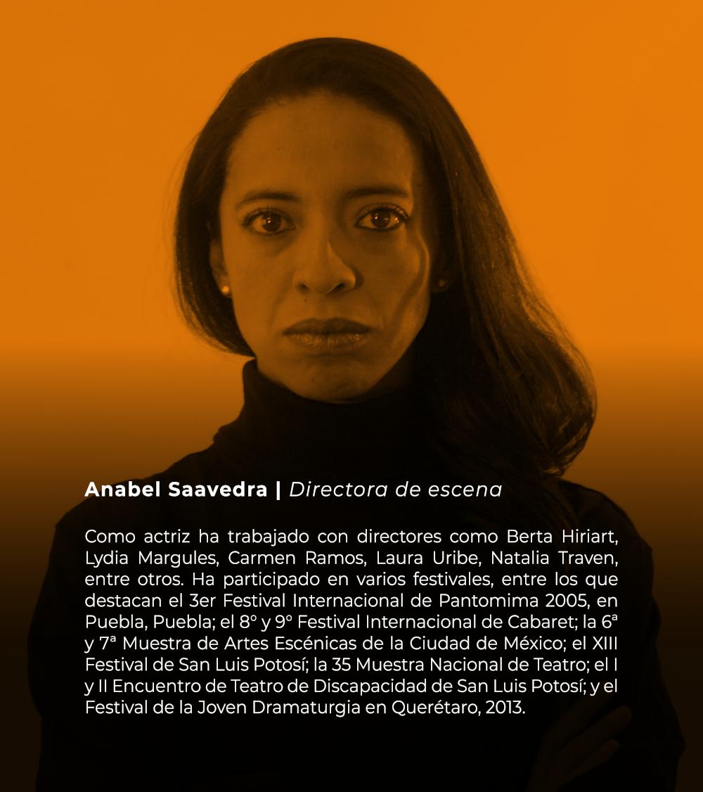 Anabel Saavedra | Directora de escena