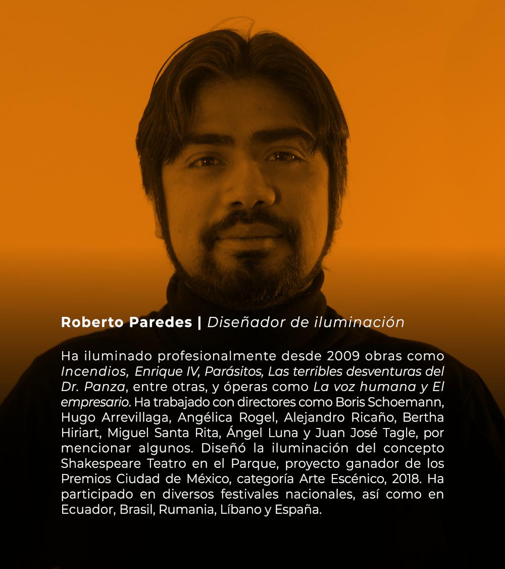Roberto Paredes | Diseñador de iluminación