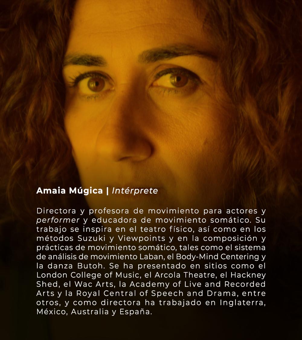 Amaia Múgica | Intérprete