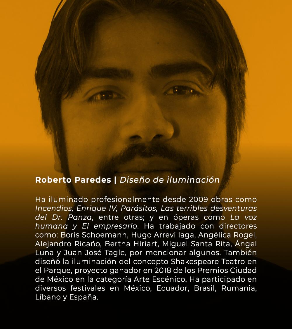 Roberto Paredes | Diesño de iluminación