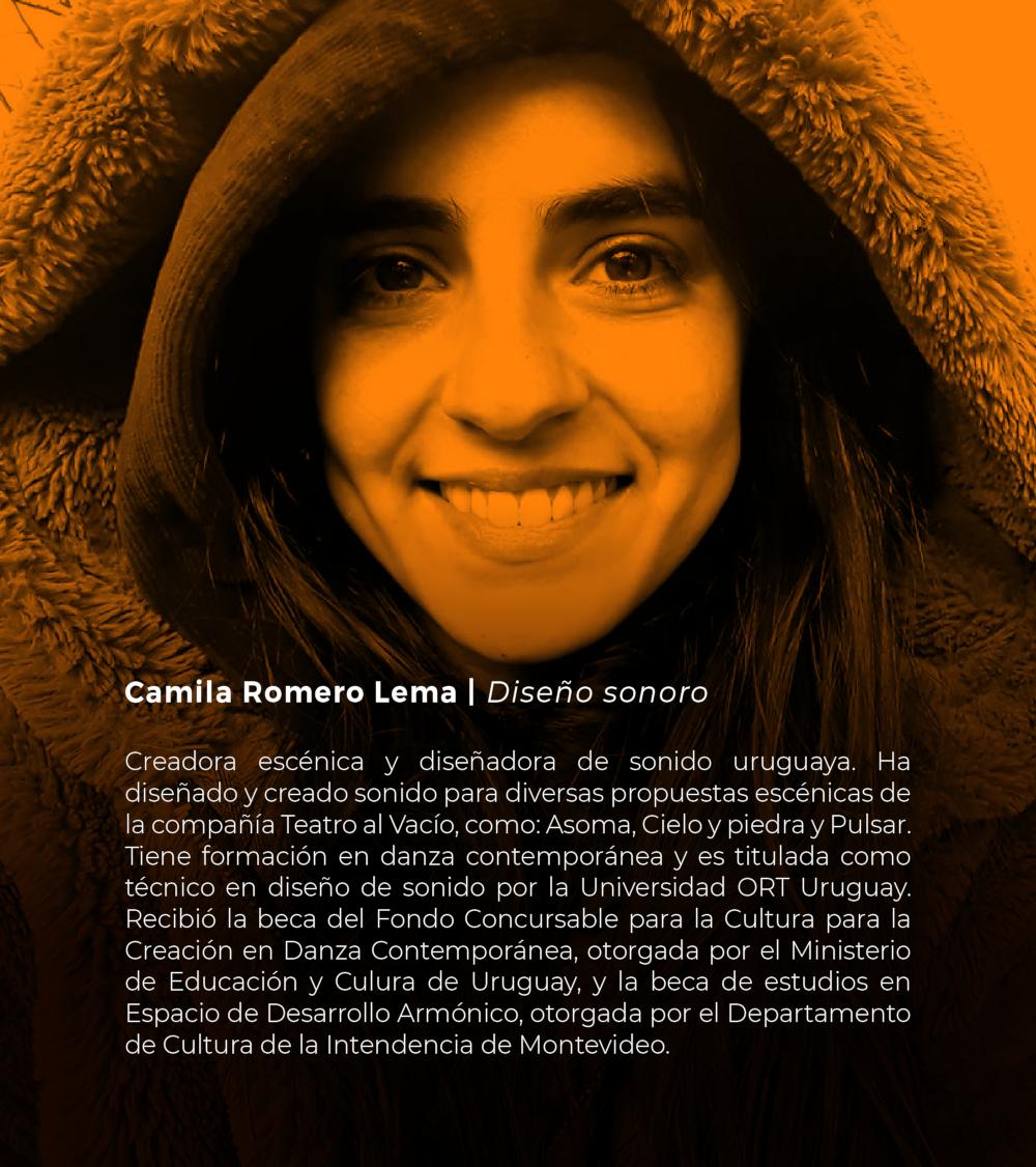 Camila Romero Lema | Diseño sonoro